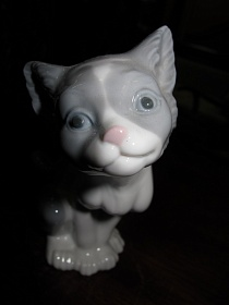 "Статуэтка ""Cat""- Feed me"", Lladro (Испания)"